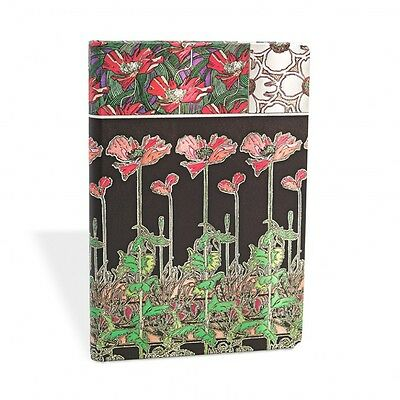 Paperblanks Mucha Collection Papaver Mini Lined Notebook - PB2181