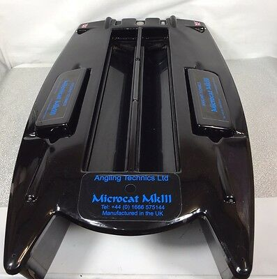 Angling Technics Microcat MK3 Fishing Bait Boat With Extras Bag Solar Panel