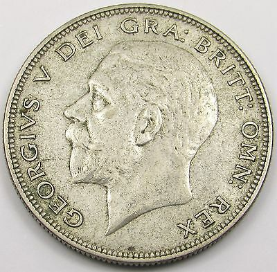 KING GEORGE V SILVER (0.500)  HALF-CROWN COIN dated 1935