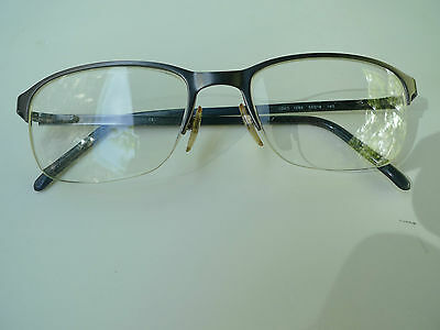 Giorgio Armani Eyeglasses With Rx Lenses- Metal Frame-Made In Italy
