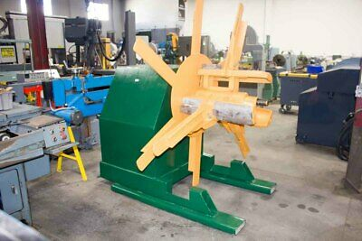 """6,000 LB x 24"""" American Coil Reel Metal Uncoiler Payoff Reel Punch Press Feed"""