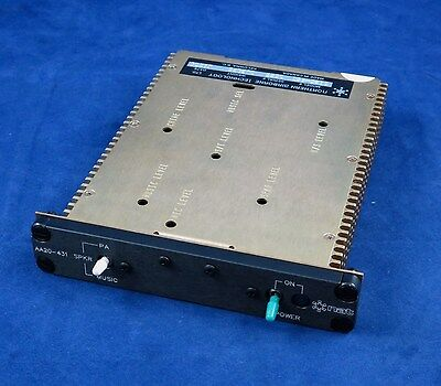 Northern Airborne Tech. Passenger Control Panel P/N AA20-431 New Surplus
