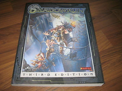 Shadowrun Third Edition 3 Core Rules Rulebook FASA 1998 SC englisch New Mint