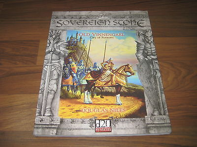 d20 Sovereign Stone Old Vinnengael City of Sorrows Sourcebook 2002 SVP 3307