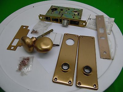 sargent 7700 Brushed Brass Mortise Door Knob Lock Set Front Door ...