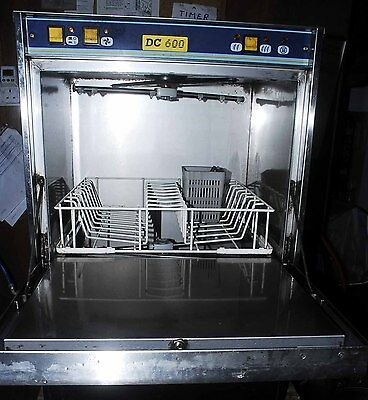 Direct Catering Dishwasher/glasswasher Dc600 Recently Serviced