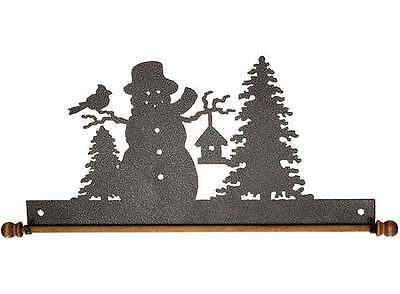 FROSTY SNOWMAN, 22 INCH QUILT HANGER HOLDER, By Ackfeld Manufacturing NEW
