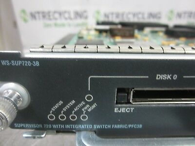 Cisco WS-SUP720-3B Supervisor 720 Engine Integrated Switch w/ WS-F6K-PFC3B
