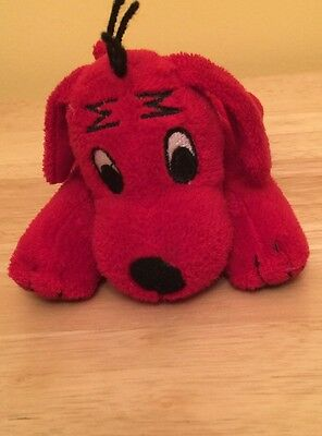 Clifford The Big Red Dog Plush Red Bean Bag 7 Inches Scholastic Stuffed Animal