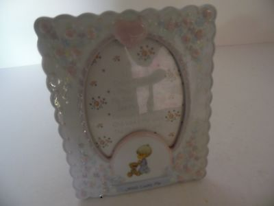 Precious Moments From Enesco Groups Porcelain Picture Frame, 2003, Jesus Loves M