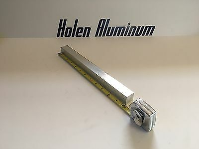 "1"" X 1"" X 12"" Long Square Aluminum Bar 6061-T6"