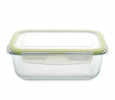 BergHOFF Studio Rectangular GLASS BAKING DISH with Storage Lid (1.7L)