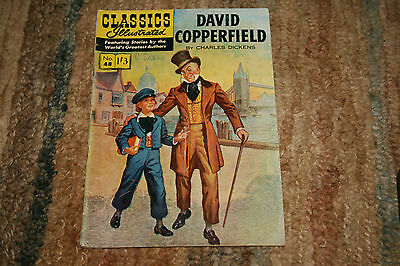 CLASSICS ILLUSTRATED - DAVID COPPERFIELD by CHARLES DICKENS - No 48