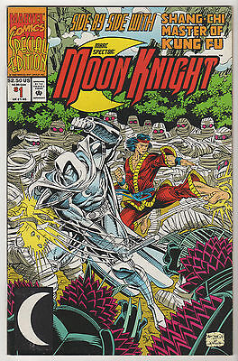 Moon Knight 1983-92 VF LOT (8) Special #1 Master Kung-Fu Spider-Man Ghost Rider