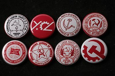 """Communist Party USA CPUSA YCL Young League Lot Pin Badge Button America Labor 1"""""""