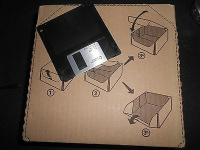 "Floppy Vergine Nuovo Disk Micro 3,5"" 3,5 Pollici 2Hd 1.44Mb Marca ""corporate Exp"