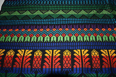 Handmade Tapestry - table runner or bed cover - from Guatemala -intricate weave