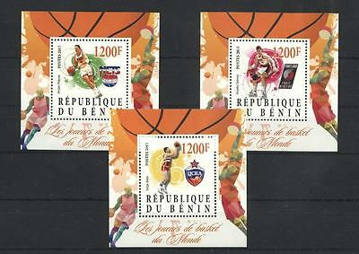 (933721) Basketball, Benin - Private issue -