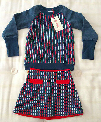 Albababy Dacy skirt and Dante pullover/blouse/top set 3-4y/104 BNWT