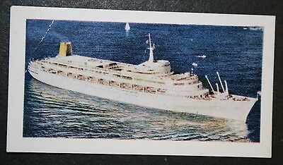 SS CANBERRA   P&O Orient Lines         Illustrated Colour Card
