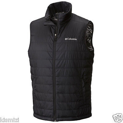 "New Mens Columbia ""Crested Butte"" Insulated Omni-Heat Vest L-XL-XXL"