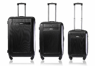 Champs 3-Piece Light-Weight Hardside Spinner Luggage Set