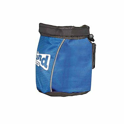 Outward Hound TREAT N BALL BAG Dog Training Collapsible with Drawstring BLUE