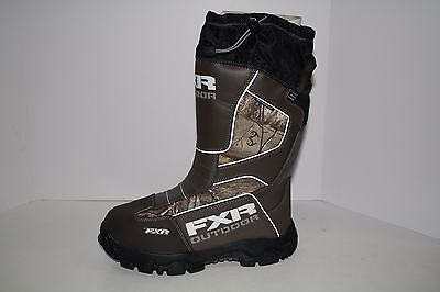Open Box FXR Mens Excursion Realtree™ Xtra Snowmobile Boots Size 10.5
