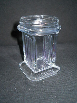 "Wheaton 5 Slide Vertical Glass Coplin Staining Jar, No Screw Cap, 3.25"" Tall"