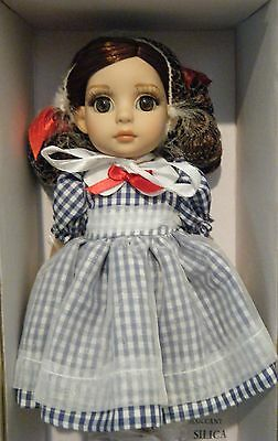 "Tonner Little Country Girl Patsy 10"" Dressed Doll Bend Knees Dorthy Oz Inspired"
