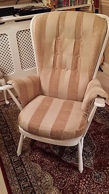 armchair ercol easy windsor vintage retro high stick back chair seat sofa lounge