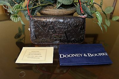 NWT Dooney and Bourke Star Wars Wristlet Full Leather Disney SOLD OUT