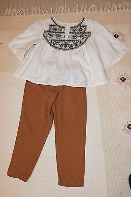 ZARA Girls lovely set/outfit age 5-6 years Used once