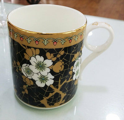 Wedgwood Mug In Porcellana Archive Black Hawthorn Porcelain Cup Collection