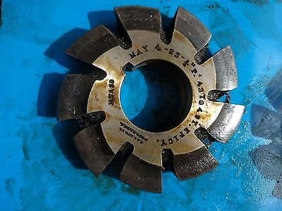 """HSS Involute Gear Mill Cutter: MAY 4-23- 3/4"""" P. 43 to 49T. EPICY . B&S"""