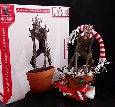 Gentle Giant Potted Groot Statue Exclusive Holiday Edition LOW NUMBER 25/500