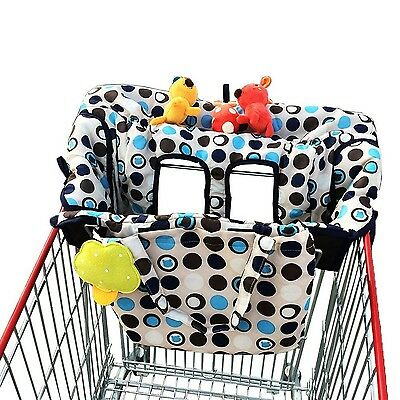 Crocnfrog 2-in-1 Shopping Cart & High Chair Cover for Baby