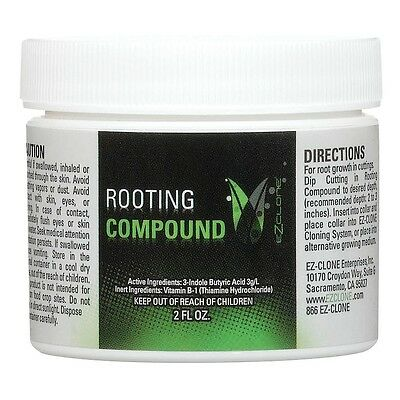 EZ-Clone Rooting Compound, 2 Ounces - Clone Gel - Cloning