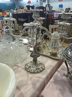 William Rogers 5 Candle Candelabra