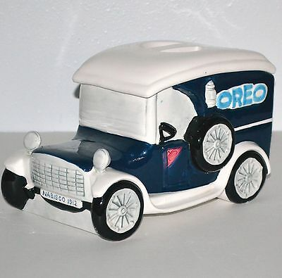 Oreo Cookie Jar Delivery Truck 1912 Studebaker Nabisco Classics Collection Ceram