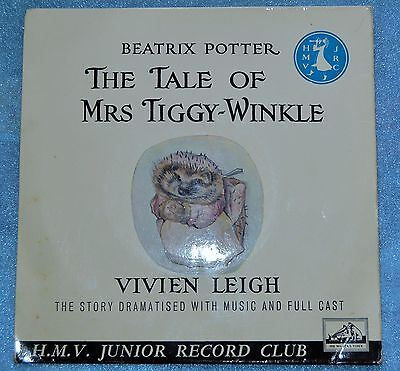 "Beatrix Potter The tale Of Mrs Tiggy-Winkle 7"" Single EX/VG"