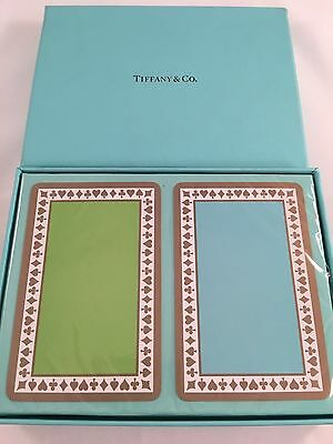 Tiffany & Co Sealed Unopened Playing Cards. Vintage. RARE!