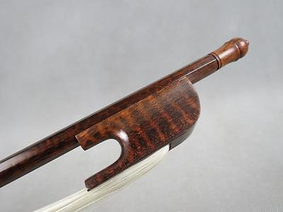 strong Baroque style snakewood 4/4 cello bow,snakewood frog