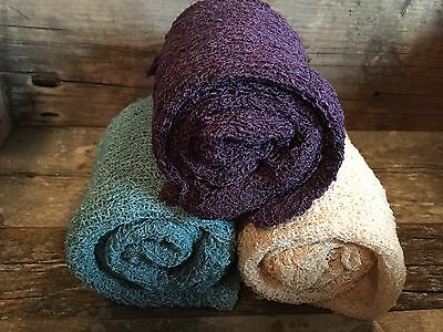 Set Of 3-BABY STRETCH WRAPS--newborn Photo Prop...Great Colors-NEW