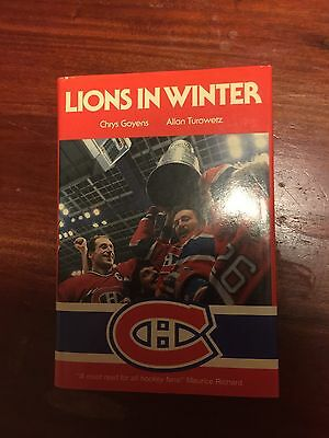 Lions In The Winter Montréal Canadiens Hockey Book