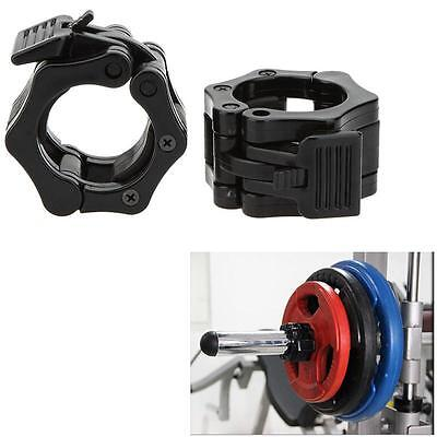Barbell Buckle Clamp Barbells Snap Latch Quick Release Secure Safety Dumbbell