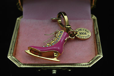 Authentic Juicy Couture Ice Skate Charm