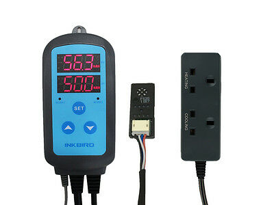 INKBIRD Digital Humidity Controller 220v Humidifier Hygrometer Hygrometers test