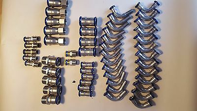 Viega Fittings  Crimp Fittings 15mm 22mm