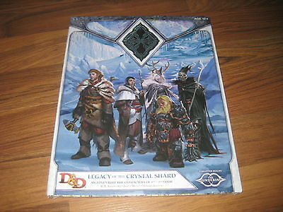 D&D 3.5 / 4  / 5th Ed.Forgotten Realms Legacy of the Crystal Shard WotC 2013 New